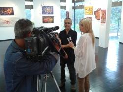 Gravação entrevista InterTV
